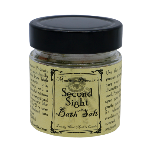 Second Sight Magical Bath Salts Bath Salts - Hekatos Healing Crystals and Spirituality Supplies