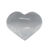 Selenite Heart Stone Heart Stone - Hekatos Healing Crystals and Spirituality Supplies