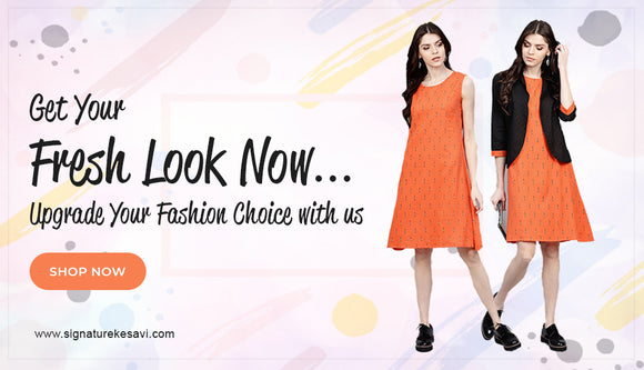 Online Dresses For Women !! Signature Kesavi