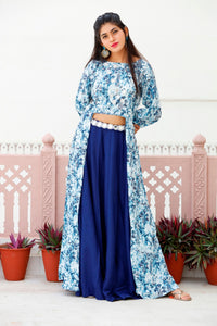 Signature Kesavi Long blue gown