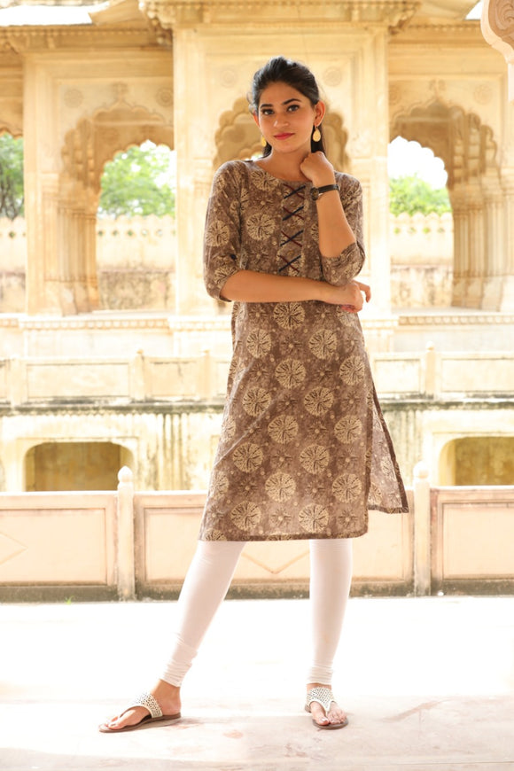 Signature Kesavi Cotton Casual Wear Kurti
