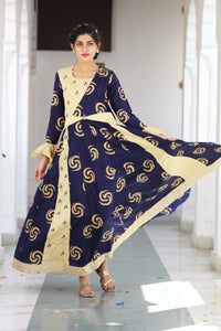 Signature Kesavi blue floor length kurti