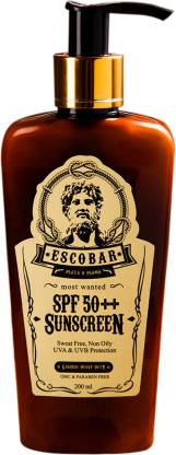 ESCOBAR SPF 50++ Sunscreen _200 ML