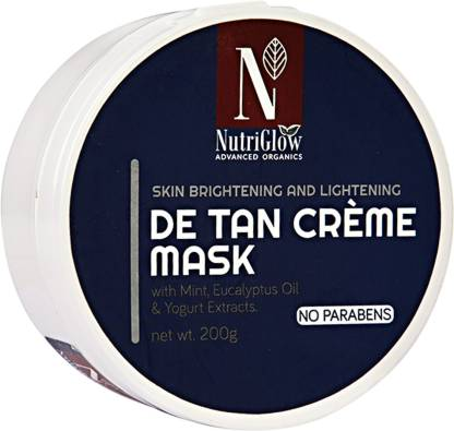 NutriGlow  Advanced Organics De Tan Creme Mask _200 GM
