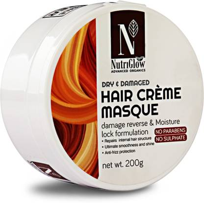 NutriGlow Advanced Organics Hair Crème Masque _200 GM