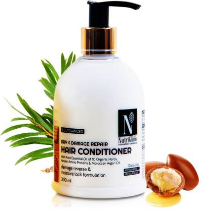 NutriGlow Advanced Organics Dry & Damage Repair Hair Conditioner _300 ML
