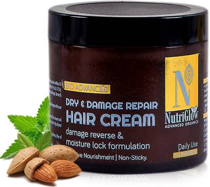 NutriGlow Advanced Organics Dry & Damage Repair Hair Cream _100 GM