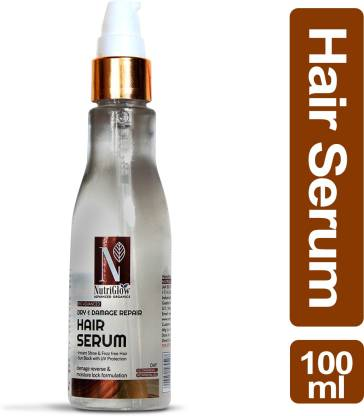 NutriGlow Advanced Organics Dry & Damage Repair Hair Serum _100 ML
