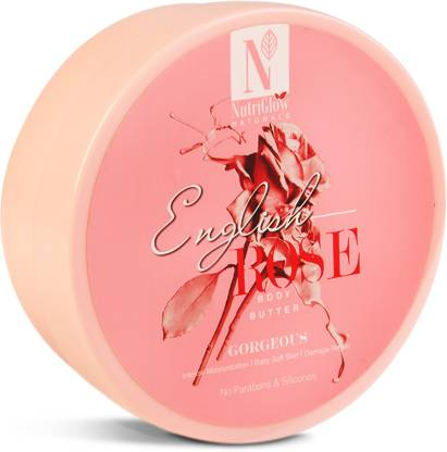 NutriGlow Natural's English Rose Body Butter _200 GM