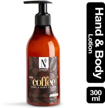 Nutriglow Natural's Raw Irish Coffee Hand & Body Lotion _300 ML