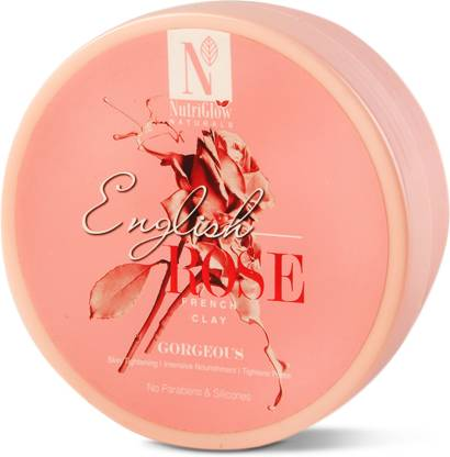 NutriGlow Natural's English Rose French Clay _200 GM