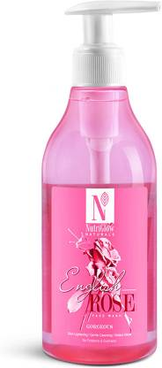 NutriGlow Natural's English Rose Face Wash _300 ML