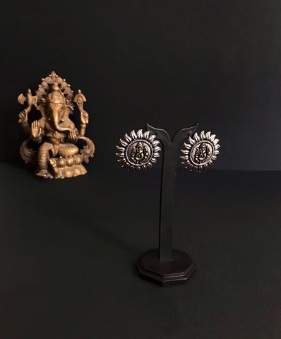 Ganpati Stud Earrings
