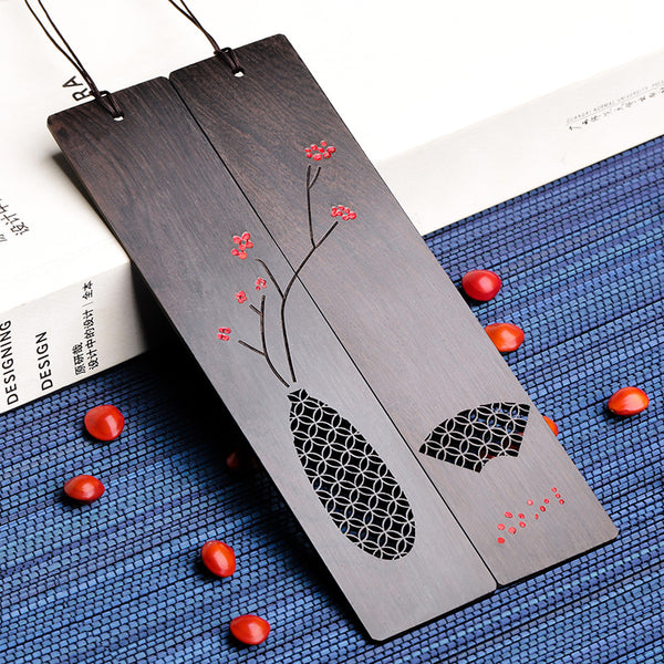 Redwood Southland Acacia Bean/Red Bean Bookmark Set Retro Style Practical Gifts Send Girlfriend Birthday