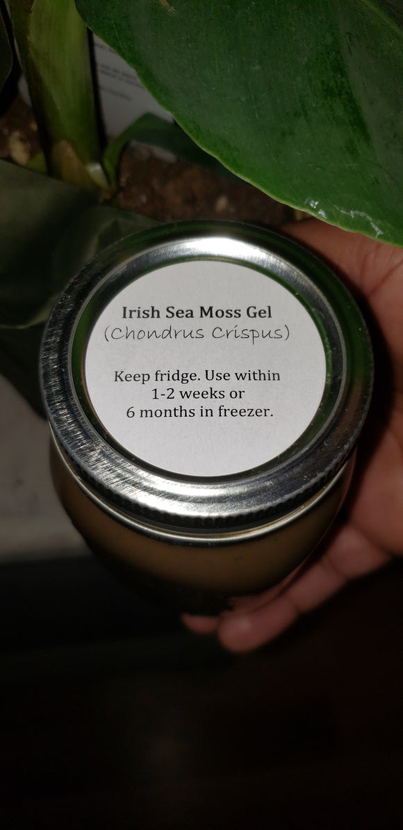 Irish Seamoss Gel
