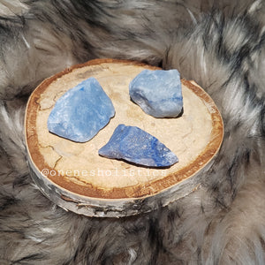 Raw Blue Aventurine