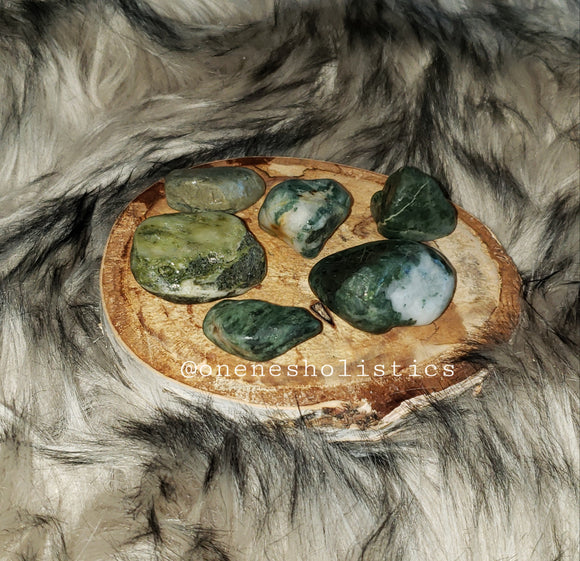 Jamaican Moss Agate