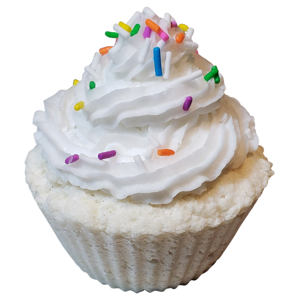 Birthday Cupcake Bath Bomb