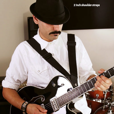 harness strap double guitar strap with a gretsch guitar