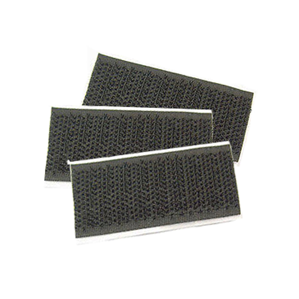 3 pieces of adhesive Velcro