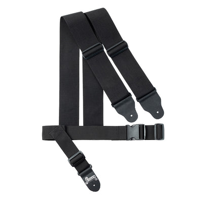 slinger straps 3-inch harness strap for bass front view