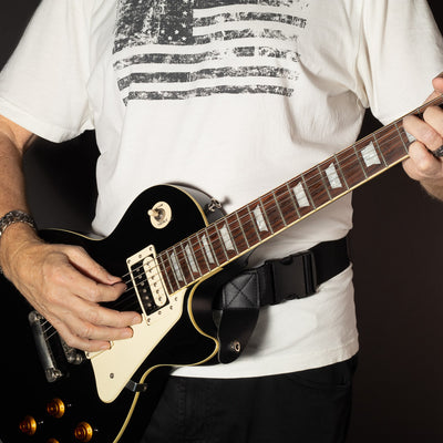 hip-strap-guitar-strap-wit-les-paul-guitar-and-white-shirt
