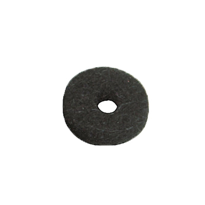 black felt washer for guitar strap button