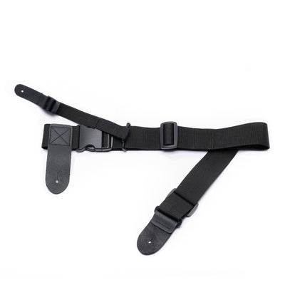 hip strap with leash strap for top strap button to avoid forward guitar lean