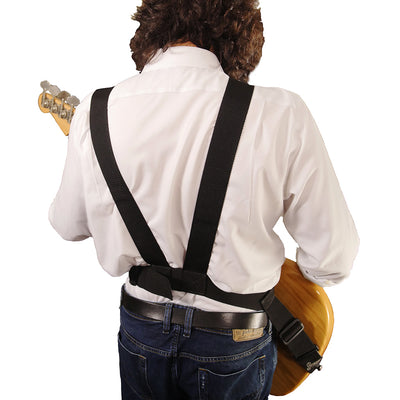 slinger straps 2-inch harness strap with fender bass rear view