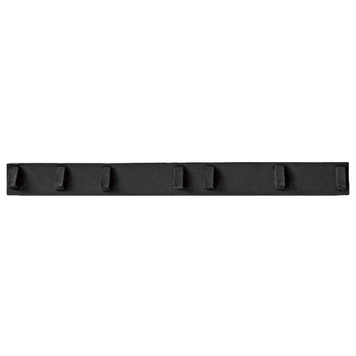 black neoprene waist pad for ergonomic guitar strap