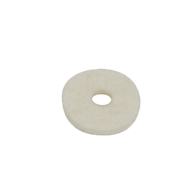 white felt washer for guitar strap button