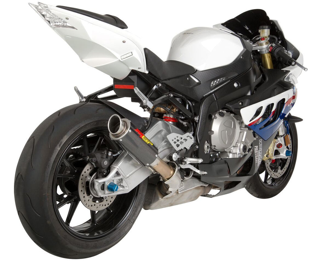 BMW S1000RR (10-11') HBR ABS Undertail w/ Built in LED Signals - Alpine White (92)