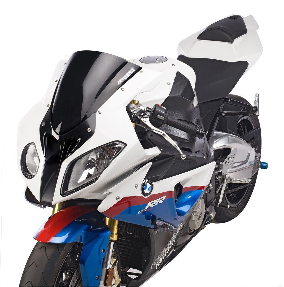 BMW S1000RR (10-14') HBR GP Windscreen (Dual Radius) - Solid Black