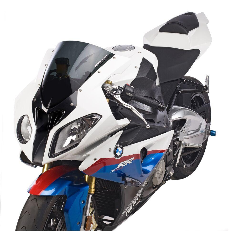 BMW S1000RR (10-14') HBR SS Windscreen (Stock Replacement) - Dark Smoke