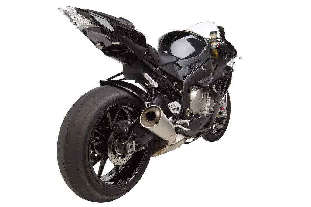 BMW S1000RR (12-14') ABS Undertail w/ Built in LED Signals - Black (8)