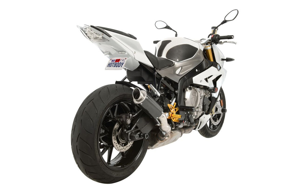 BMW S1000R (14-16') MGP Exhaust - Slip on Carbon Fiber Canister