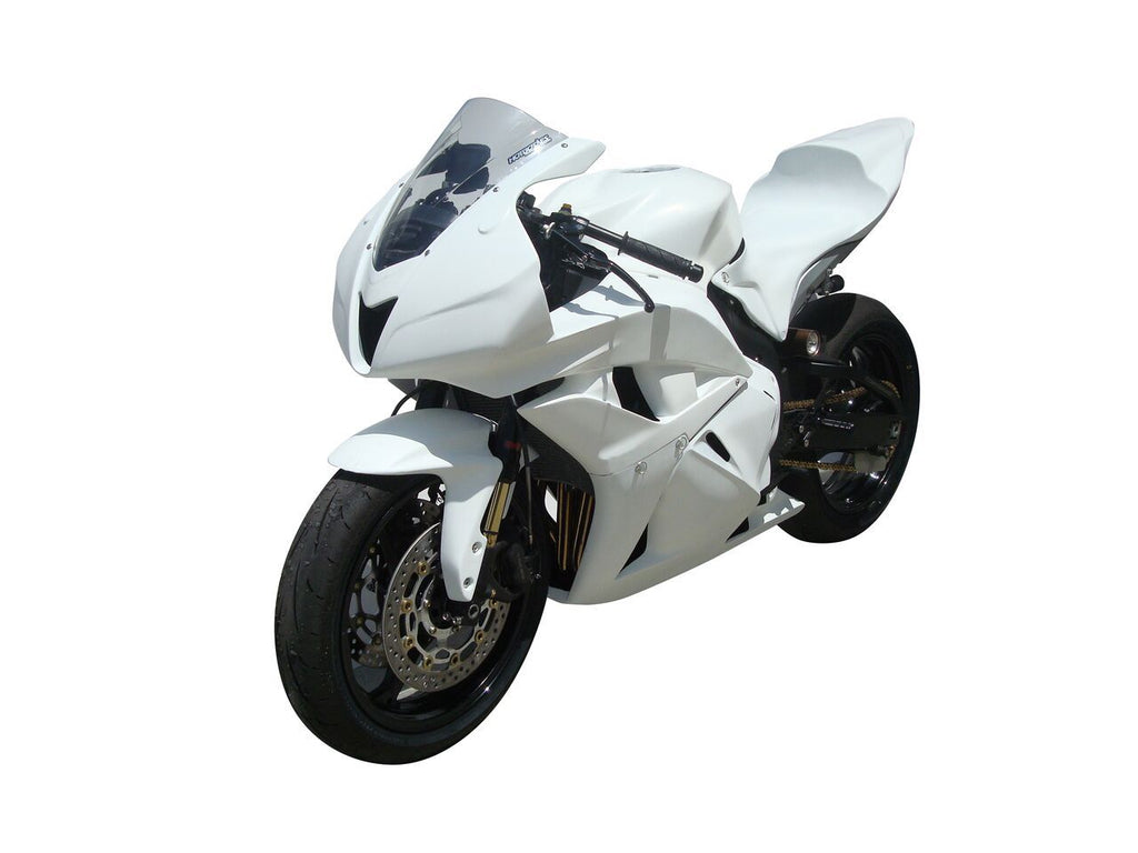 HONDA CBR600RR (09-12') Fiberglass Race Bodywork Set (UP, LW, TC, TL, FF)