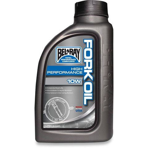 BEL-RAY HIGH-PERFORMANCE FORK OIL 7W LITER