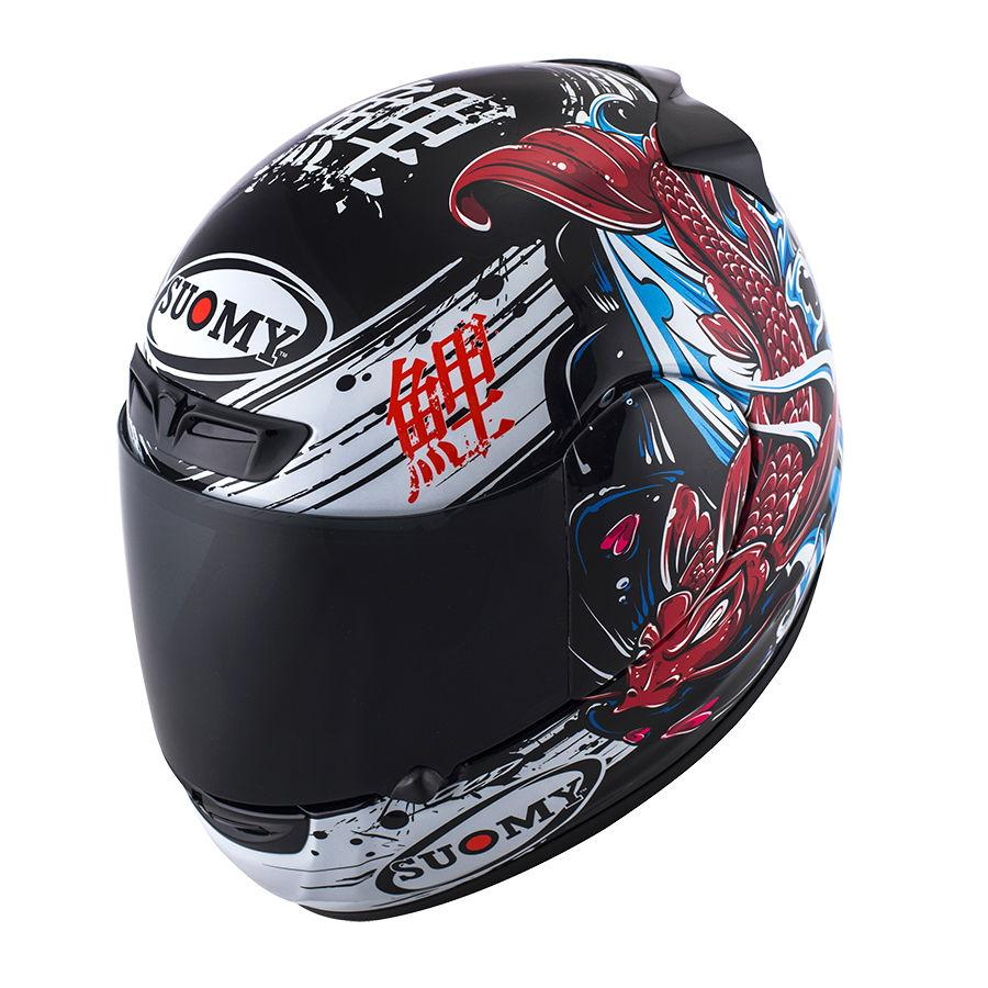 SUOMY APEX JAPAN BLACK & RED