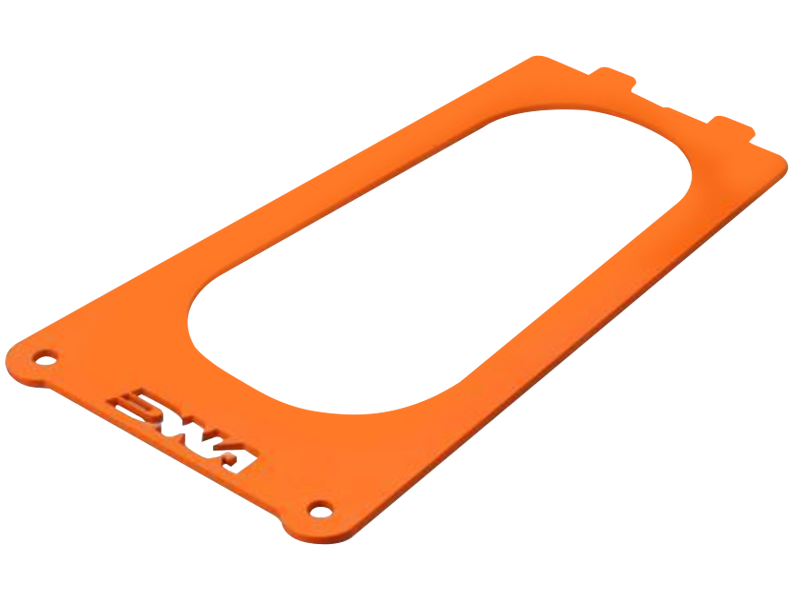 DNA KTM 690 SMC Stage 2 Air Box Filter Cover (2008+) (Orange)