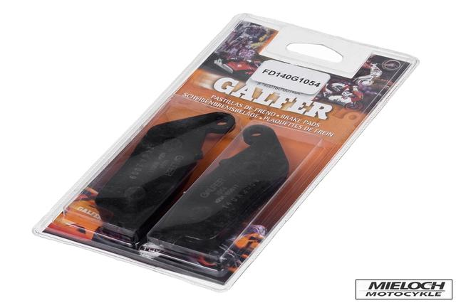 GALFER HONDA VT 1300 CS SHADOW SABRE 2010 - 2015 FRONT BRAKE PADS Semi-Metallic Compound