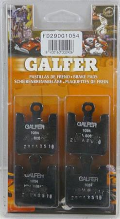Galfer Kawasaki ZX - 6RR 2003 - 2006 Semi-Metallic Compound Front Brake Pads