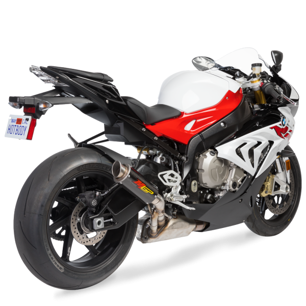 BMW S1000R / RR (17-18') MGP Exhaust - Slip on Carbon Fiber Canister