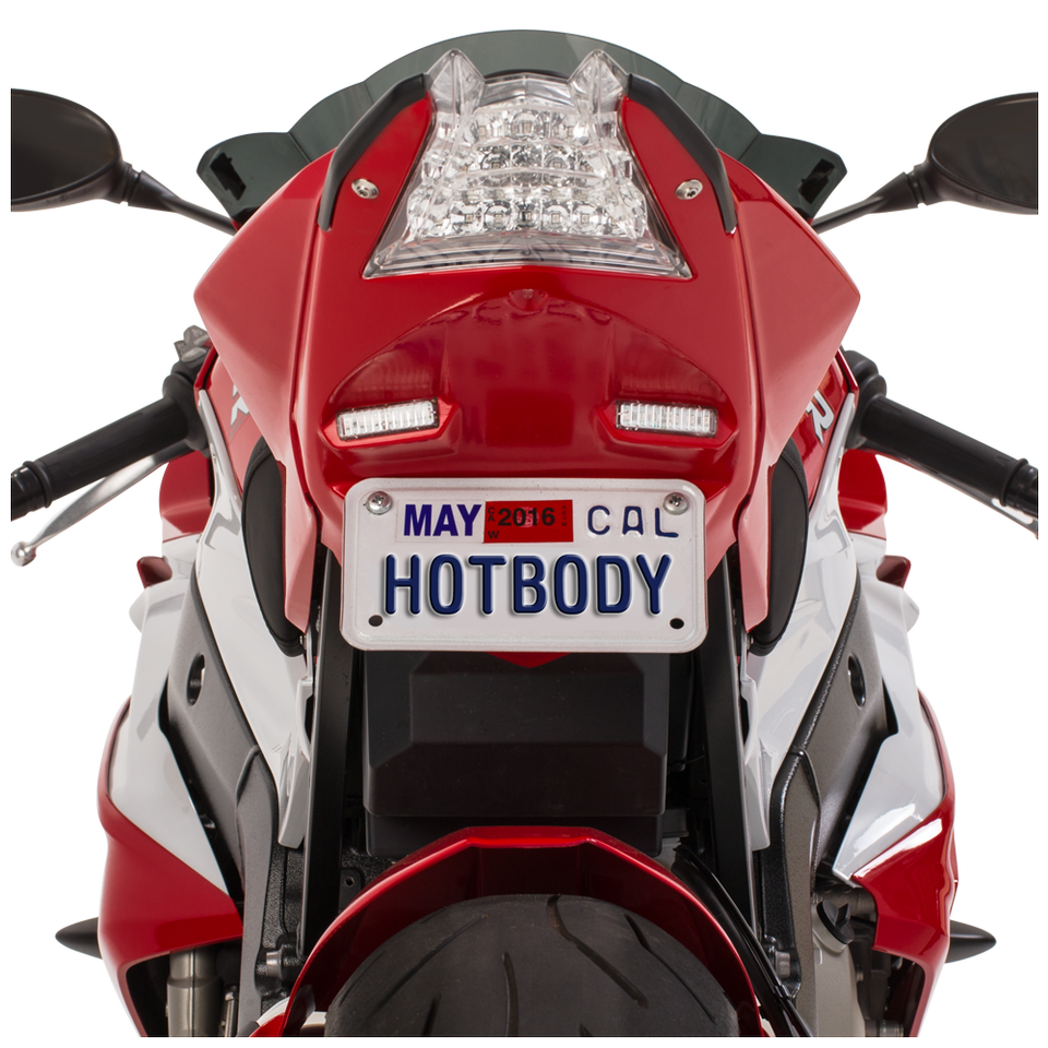 BMW S1000RR (15-18') S1000R (14-18') ABS Undertail w/ Built in LED Signals - Light White (200)
