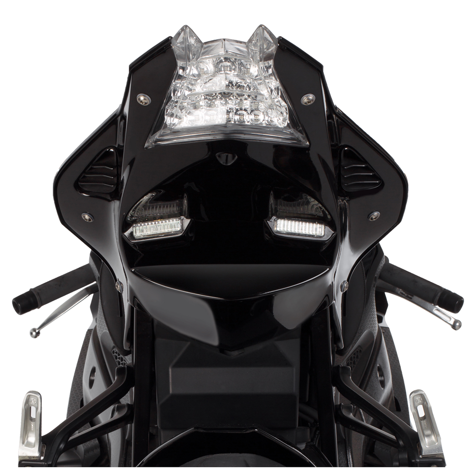 BMW S1000RR (15-18') S1000R (14-18') ABS Undertail w/ Built in LED Signals - Black (8)