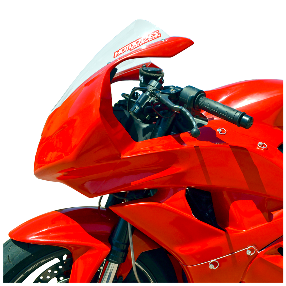 HONDA CBR600RR (09-12') Fiberglass Race Upper RED