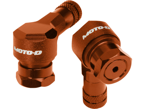Image of MOTO-D Angled Motorcycle Valve Stems 11.3MM