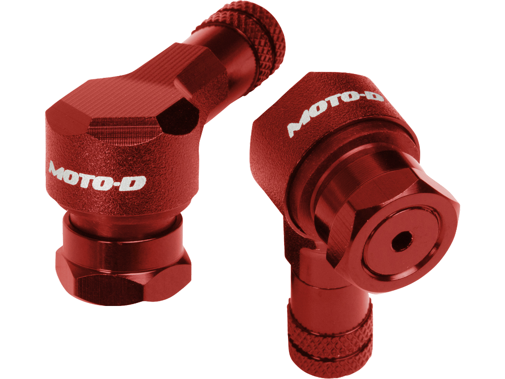MOTO-D Angled Motorcycle Valve Stems 8.3MM