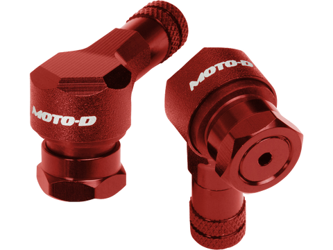 Image of MOTO-D Angled Motorcycle Valve Stems 8.3MM