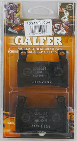 Galfer Kawasaki ZX - 6R ABS 2013 - 2017 Semi-Metallic Compound Front Brake Pads